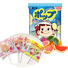 【天猫超市】不二家 棒棒糖(柠檬味+西柚味)125g/袋 休闲零食小吃
