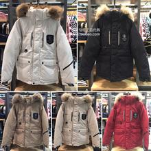 反季款!POLHAM韩国正品代购保暖大毛领男女情侣款加厚羽绒服外套