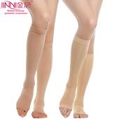 护士袜 医生金尼二级中筒弹力袜子动脉袜静脉袜子 包邮 张曲袜 正品
