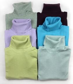 秋冬季新款 情迷j.crew 意大利羊绒女高领针织衫/羊绒衫/毛衣