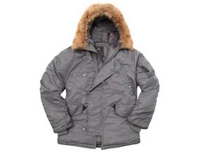 新款正品美国ALPHA N3-B极地男修身防寒服美大衣棉大衣普通版
