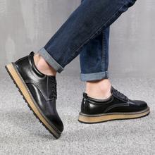 低帮单鞋 复古男式休闲皮鞋 学生旅游鞋 英伦时尚 想川2017春夏季新款