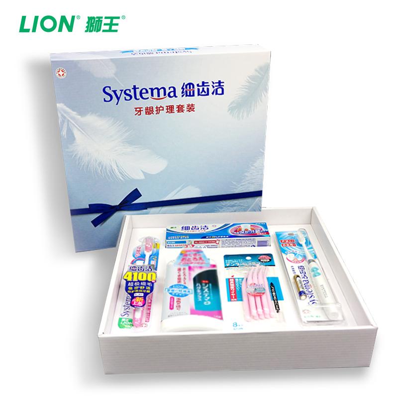狮王 细齿洁专业口腔护龈 牙龈护理礼盒套装5件套