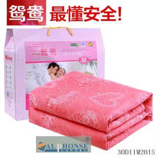 家纺电热毯超大三人加大加厚安全保护双人双控无极调温电褥子Y08