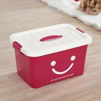 加厚食品级透明收纳箱整理箱塑料
