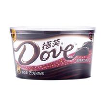随机发货 香浓黑巧252g碗装 天猫超市 新老包装 德芙巧克力礼盒
