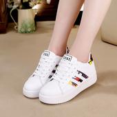 17春新款韩版女鞋厚底女运动鞋休闲鞋阿甘板鞋松糕单鞋小白跑步鞋