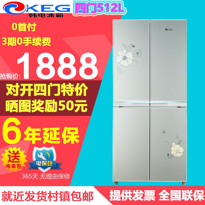 [分期购]KEG/韩电 BCD-387DCV4J 电冰箱四门多门对开式大家电包邮