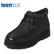 Teenmix/天美意冬季专柜同款牛皮男休闲靴(绒里)2AK0TDD6图片