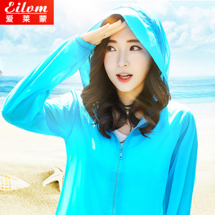 2016夏季新款防晒衣女装长袖超薄防晒服外套韩版中长款大码防晒衫