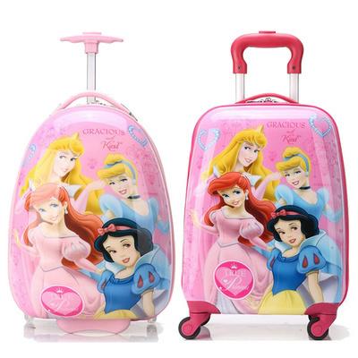 寸万向轮18可爱小旅行箱16白雪公主儿童拉杆箱女童行李箱宝宝拖箱