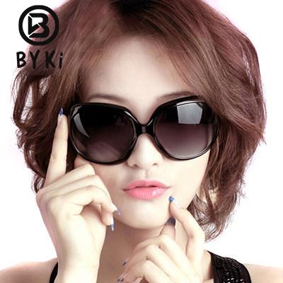 2016女潮人明星款太阳镜女士复古大框墨镜防紫外线圆脸太阳眼镜