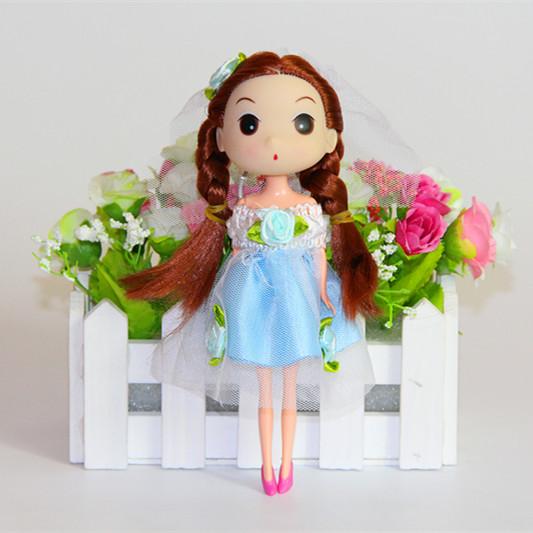 包邮正版18厘米迷糊娃娃 冬己娃娃 芭比洋娃娃 女孩玩具娃娃 批发