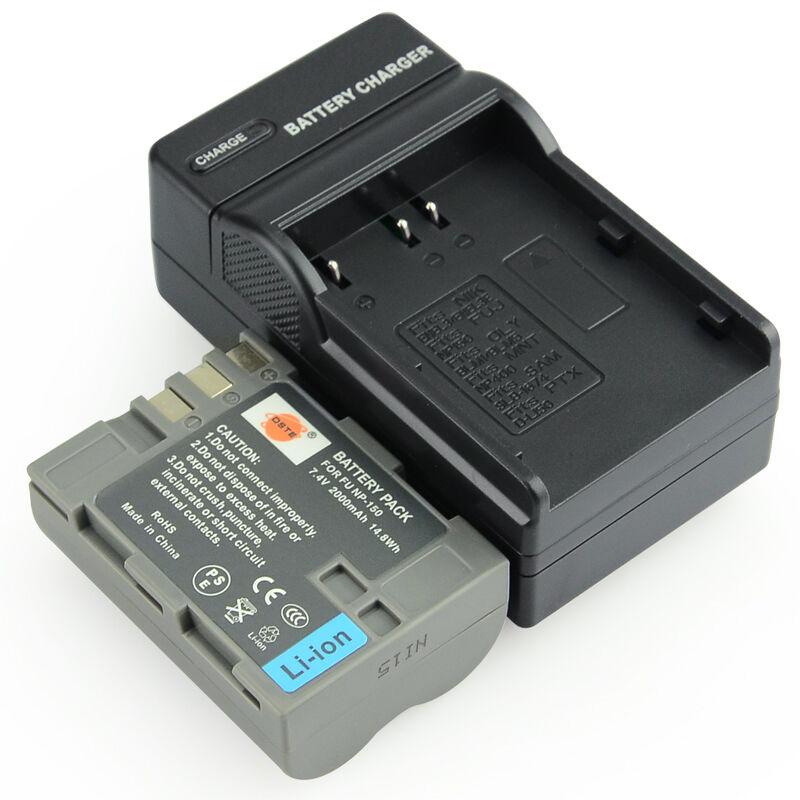 蒂森特 富士S5 Pro 单反 电池 NP150 NP-150 相机电池套装包邮