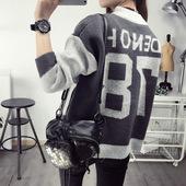 限时打折2016秋冬秋新款毛衣开衫上衣外套女装衣服蝙蝠衫学生韩版