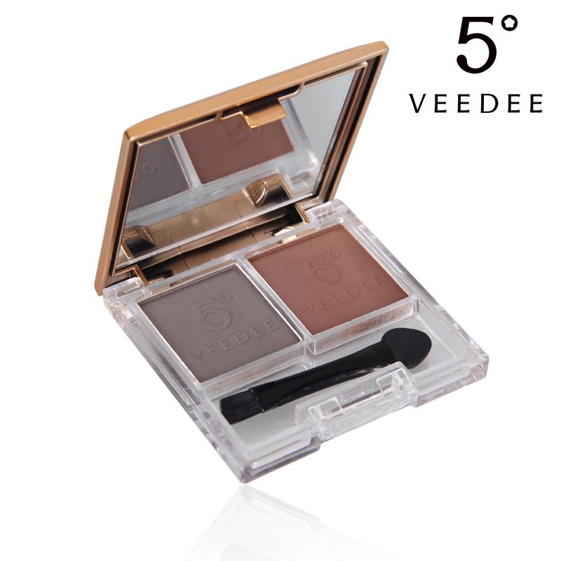 VEEDEE 5°新品 造型眉粉2.8g*2彩妆持久防水不脱妆防汗带眉刷