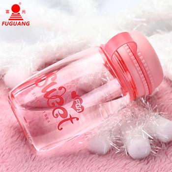 富光FGA甜馨太空杯小巧随手杯迷你可爱创意透明带盖学生女士便携