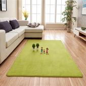 家用珊瑚绒现代日韩客厅地毯茶几垫沙发飘窗毯床边毯卧室满铺垫子