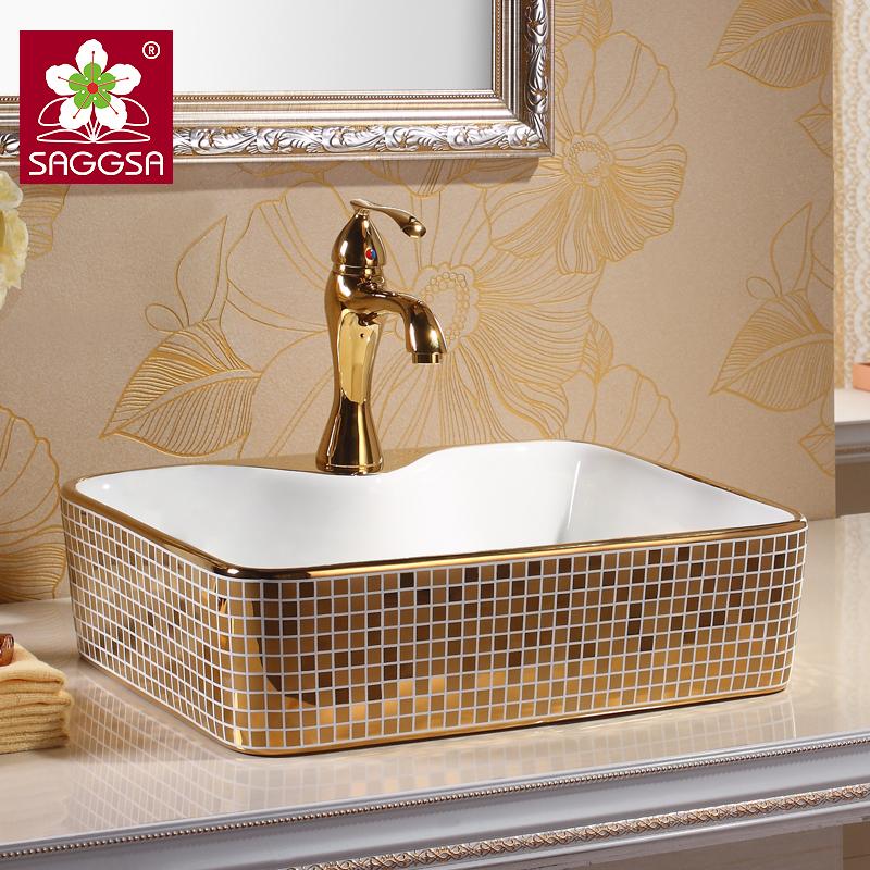 台上盆艺术盆陶瓷台盆面盆卫生间洗手盆洗脸盆欧式