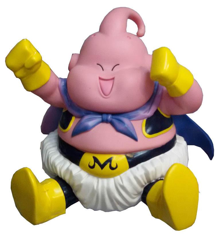 动漫玩具公仔手办模型 七龙珠 坐姿大笑胖布欧 盒装手办模型