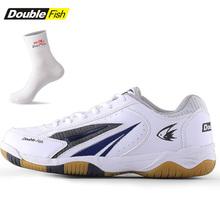 男女款 乒乓球运动鞋 专业训练比赛抓地防滑减震透气 双鱼乒乓球鞋