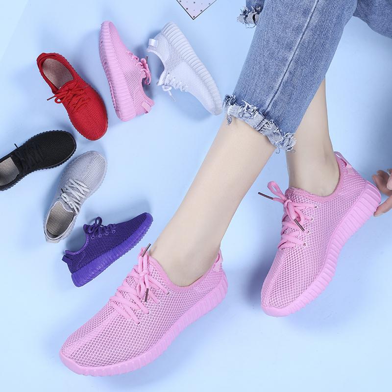 女網鞋運動鞋糖果多色莎仕路休閑鞋女百搭夏季透氣