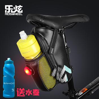 乐炫 自行车包尾包山地车水壶包折叠车后座包坐垫包骑行装备配件