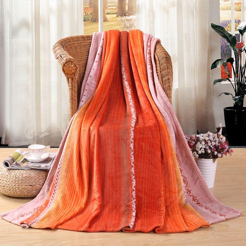 盛宇家纺 毛毯床单毯子金纺绒毯四季通用季 懒人毯空调毯