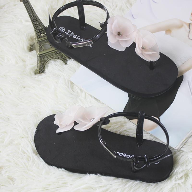 拖鞋平底凉鞋简约夏季波西米亚休闲罗马沙滩鞋