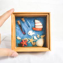 宝宝胎毛纪念品婴儿脐带胎毛盒新生儿胎发保存自制作纯手工装饰品