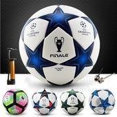 欧冠足球 无缝热粘合5号4号比赛训练儿童英超足球颗粒防滑送气筒