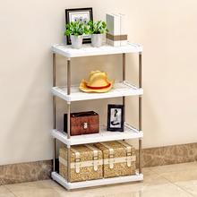 天天特价索尔诺置物架浴室客厅厨房层架塑料落地收纳储物架
