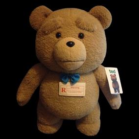 正版TED熊2美国电影《泰迪熊》抱抱熊公仔会学说话录音毛绒萌贱熊
