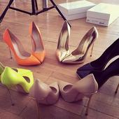 欧美新款裸色尖头超高跟鞋10cm细跟性感浅口百搭女单鞋婚鞋工作鞋