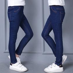 女童春款牛仔裤