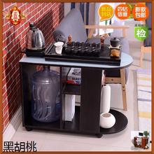 客厅沙发边几小户型创意茶几 移动功夫茶几简约钢化玻璃茶几 包邮