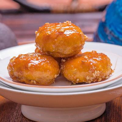 红糖小酥饼金华梅干菜肉饼烧饼义乌特产传统手工糕点茶点小吃零食