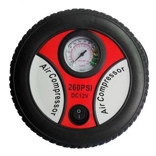 车载充气泵汽车用便携式电动冲气泵12v轿车轮胎应急打气筒包邮