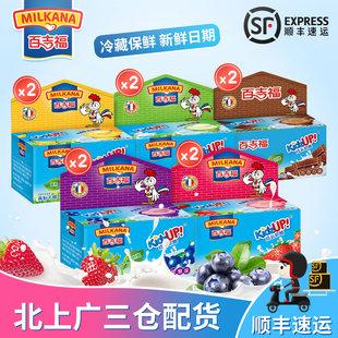 盒10100g口味口味5儿童零食进口奶源百吉福成长奶酪
