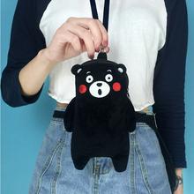 韩国ulzzang熊本挂脖手机包可爱卡通零钱包苹果7plus软妹小包包潮