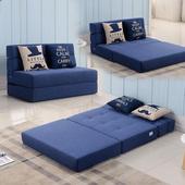 沙发床可折叠榻榻米单人1.2双人1.5米小户型客厅两用简易懒人沙发