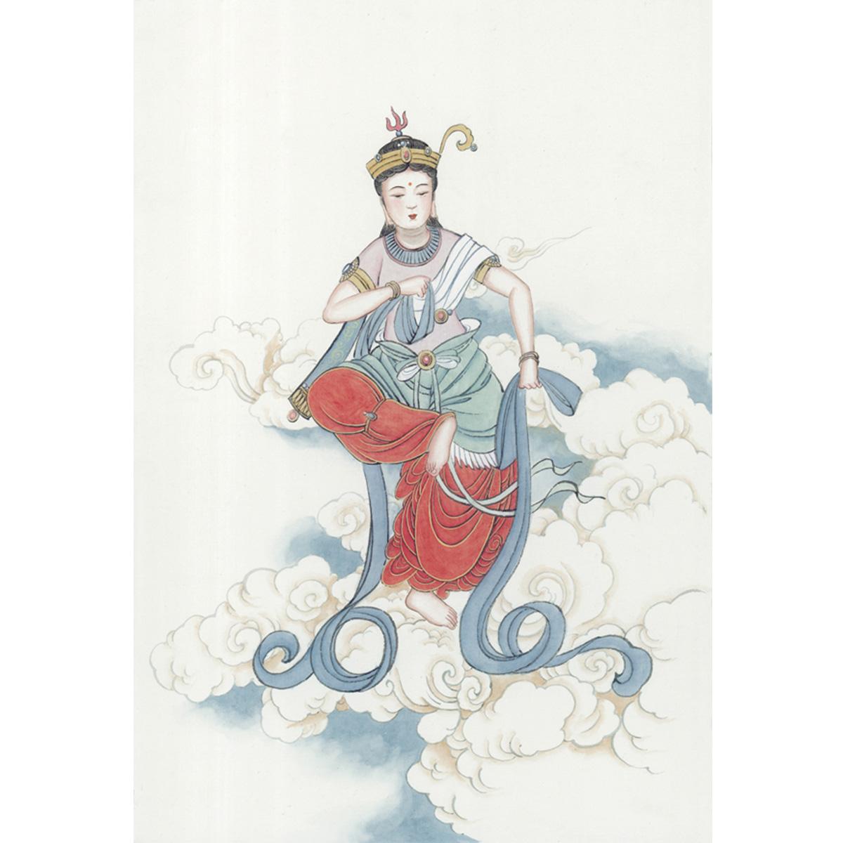 )30(46-66006_shinvhua3仕女图佚名近现代人物画古装美女
