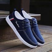 男工作鞋 帆布鞋 低帮透气防滑板鞋 韩版 休闲运动男生布鞋 春季男鞋