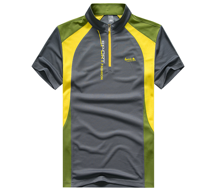 夏季户外速干衣男短袖T恤超薄透气快干吸汗大码休闲运动跑步半袖