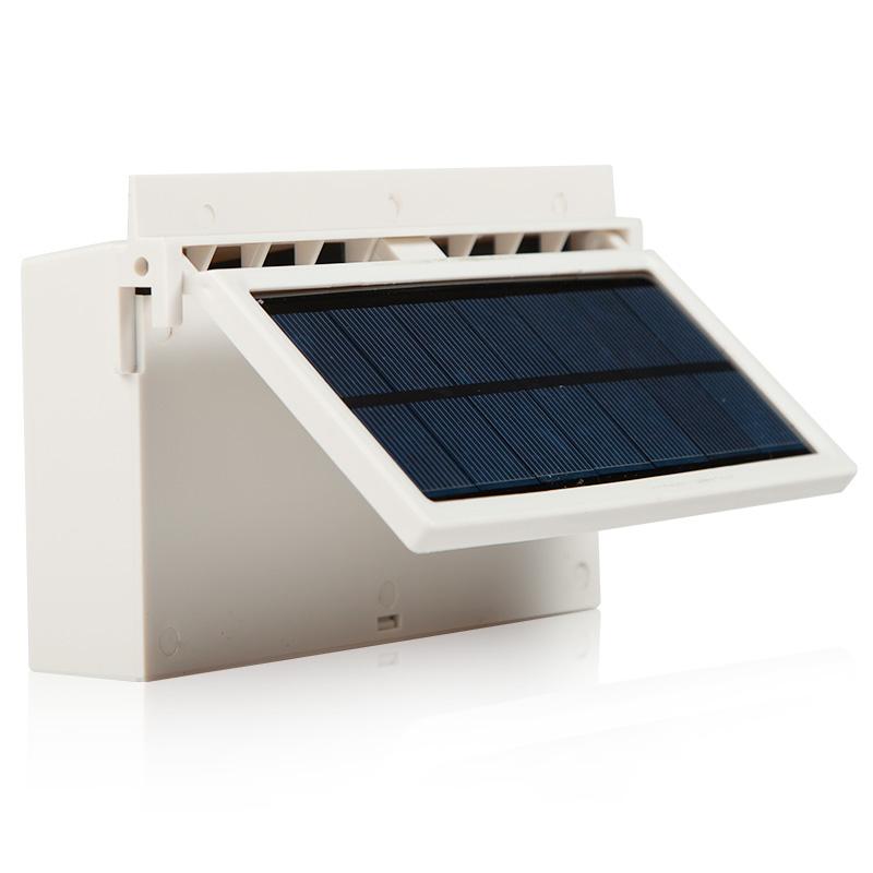 太阳能车腮汽车降温器 车载换气扇 双模供电大功率排风扇 排气扇