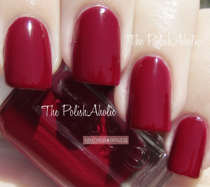 Deep Wine Nail Polish: Buy Genuine American ESSIE Nail Polish 771 Deep Wine Red