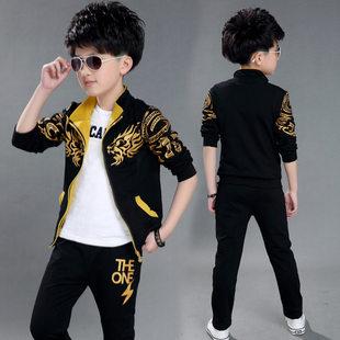 男童潮流运动两件套时尚休闲舒适