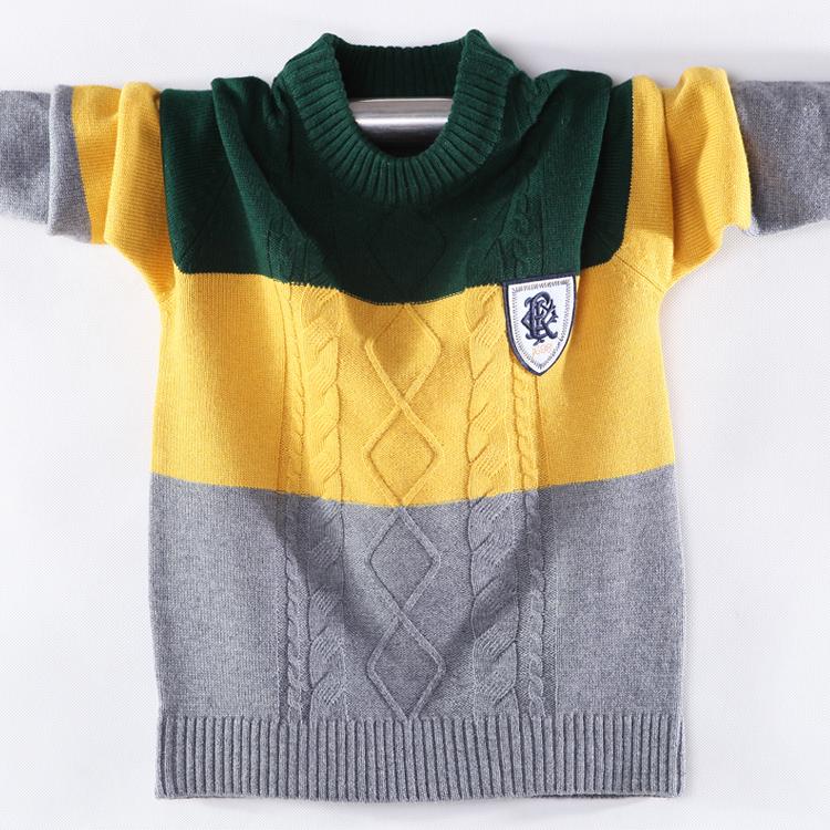 正品[儿童毛衣男]手工编织男儿童毛衣评测 男儿