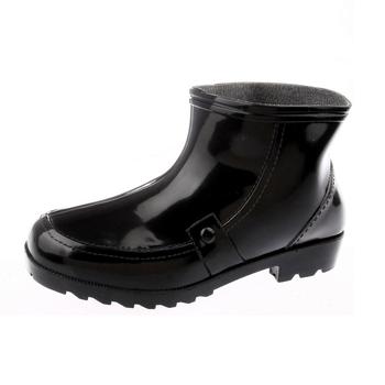 四季加厚保暖水鞋 单雨鞋男 雨靴 中筒雨靴男鞋 春秋短筒水靴水鞋