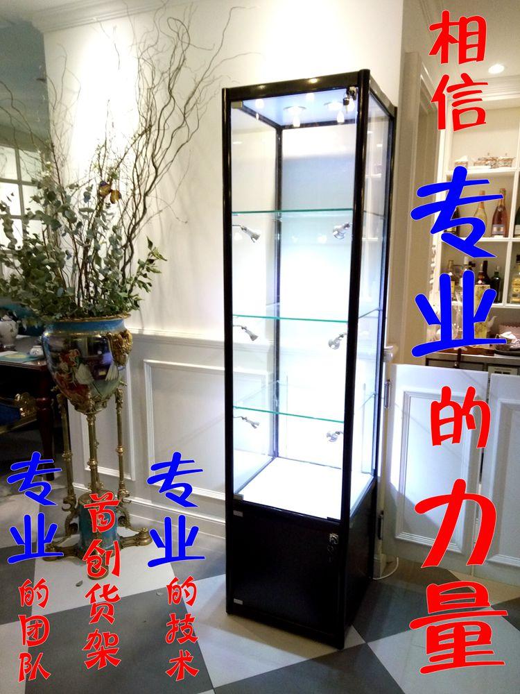 精品展柜珠宝柜玻璃展示柜化妆品展架玩具模型展柜手册奖品货架